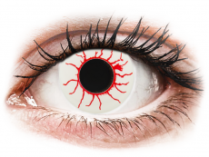 CRAZY LENS - Red Viper - journalières non correctrices (2 lentilles)