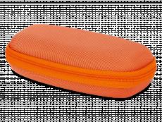 Etui à lunettes zippé enfant - orange