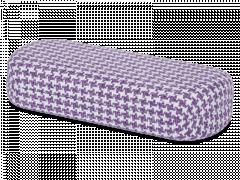 Etui à lunettes - Rooster violet & blanc
