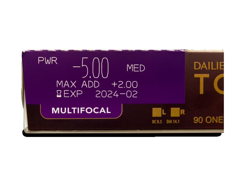 Dailies TOTAL1 Multifocal (90 lentilles)
