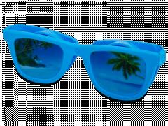 Étui à lentilles OptiShades - bleu
