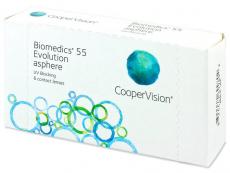 Biomedics 55 Evolution (6lentilles)