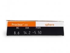 Proclear Sphere (6lentilles)
