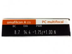 Proclear Multifocal (3lentilles)