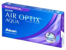 Air Optix Aqua Multifocal (6lentilles)