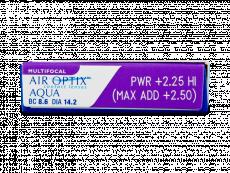 Air Optix Aqua Multifocal (3lentilles)
