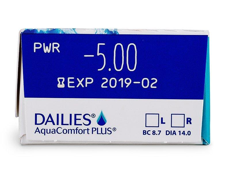 Dailies AquaComfort Plus (30lentilles)