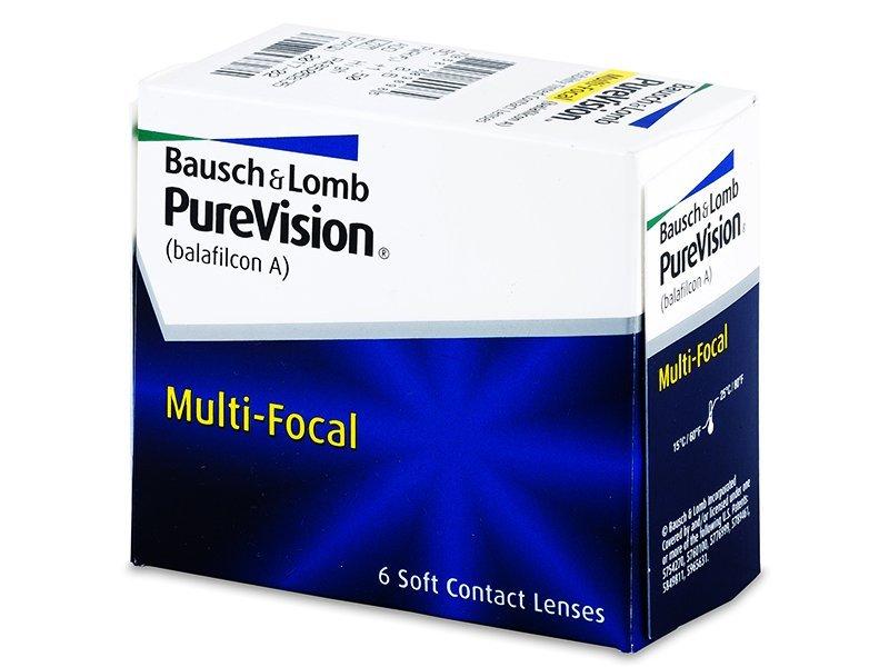 PureVision Multi-Focal (6lentilles)