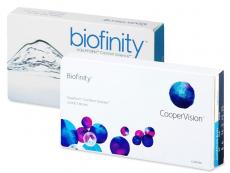 Biofinity (6lentilles)
