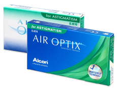 Air Optix for Astigmatism (6 lentilles)