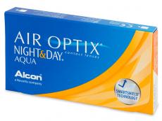 Air Optix Night and Day Aqua (3lentilles)